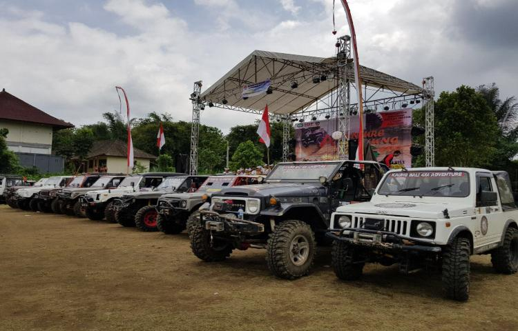 Event Off Road Adventure Bayung Gede (ABG) Kintamani,
