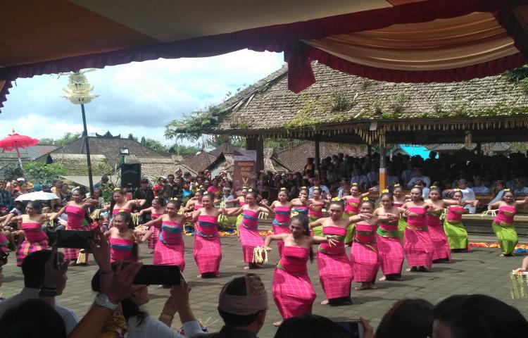 Pembukaan Penglipuran Village Festival (PVF) ke V Tahun 2017
